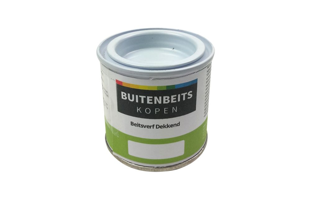 Beitsverf dekkend proefverpakking 100 ml