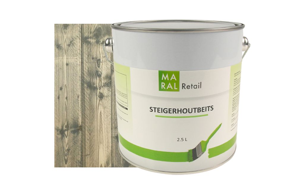 Steigerhoutbeits Grey Wash